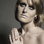 Anette - titanium and composite ring